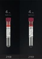 пробирки пластиковые с красной крышкой F.L.Medical